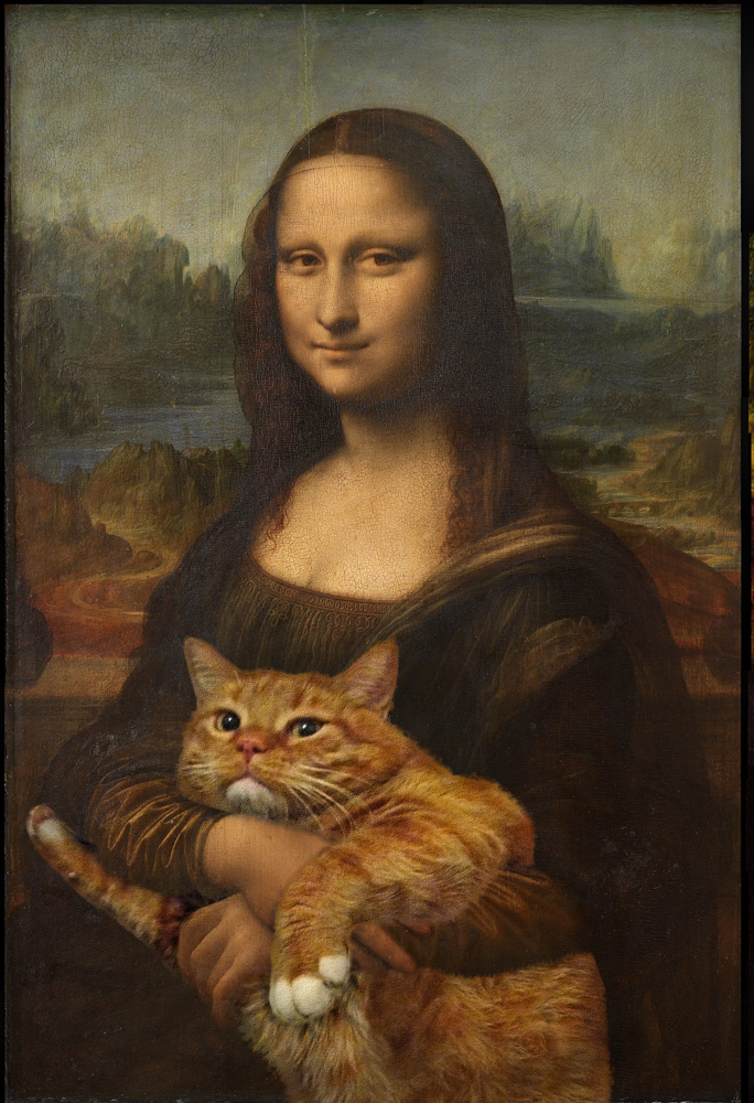 Mona Lisa Fat ~Cat