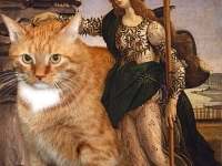 Botticelli, Pallas and the Cat / ,   