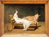 Jacques Louis David, Le Chat avec Madame Recamier/   ,    