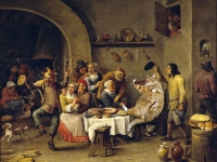 David Teniers the Yonger. The King drinks /   .  .