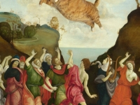 Filippino Lippi. The Worship of the Golden Cat /  ,   