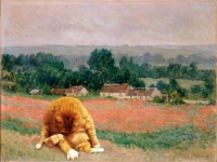 Claude Monet, Haystack at Giverny / Моне, Стог сена в Живерни