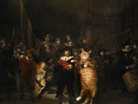 Rembrandt, The Night Watch / ,  