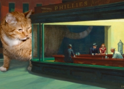 Edward Hopper, Nighthawks and Nightcats /  , 