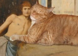 Fernand Khnopff, Art or the Caresses of the Sphynx