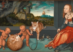 Lucas Cranach the Elder, Melancholy of City Cats /   ,   