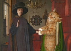 Jan van Eyck, The Arnolfini Portrait /   ,   