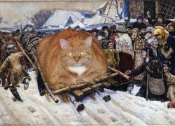 Vasily Surikov, Boyarynya Morozova /  ,  