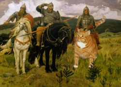 Viktor Vasnetsov, Heroes (Bogatyri)/  , 