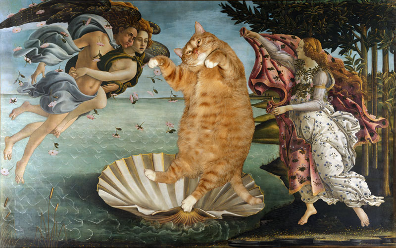 Botticelli, The Birth of Venus