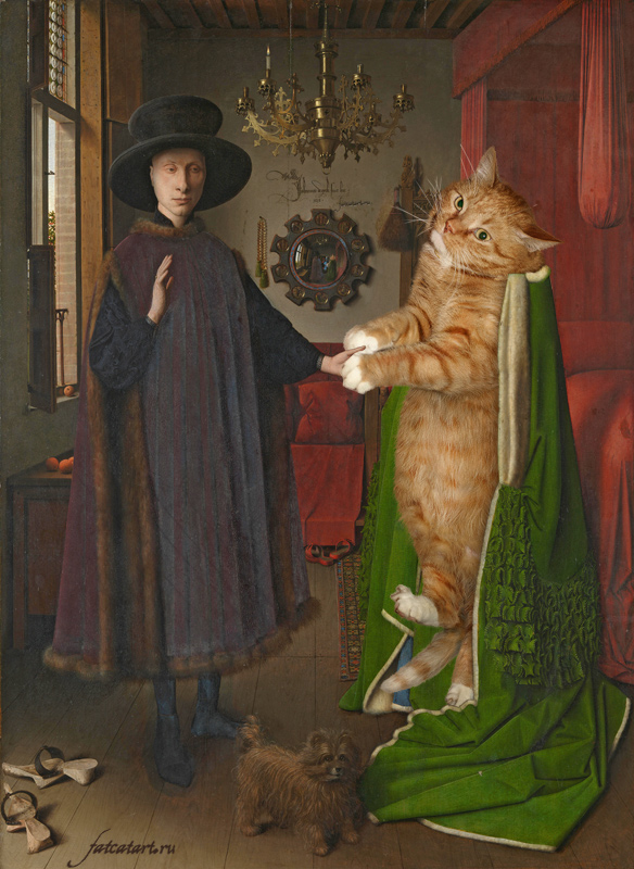 Jan van Eyck, The Arnolfini Portrait