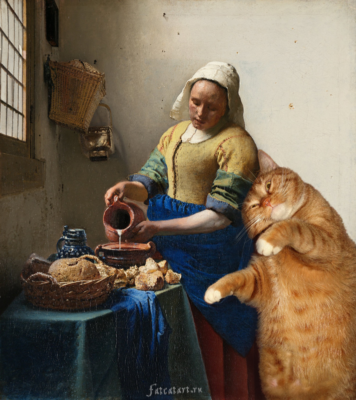 Johannes Vermeer, The Kitchen Maid