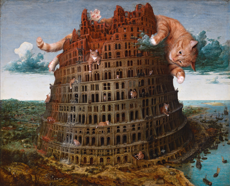 Pieter Bruegel, The Tower of Babel, 1565