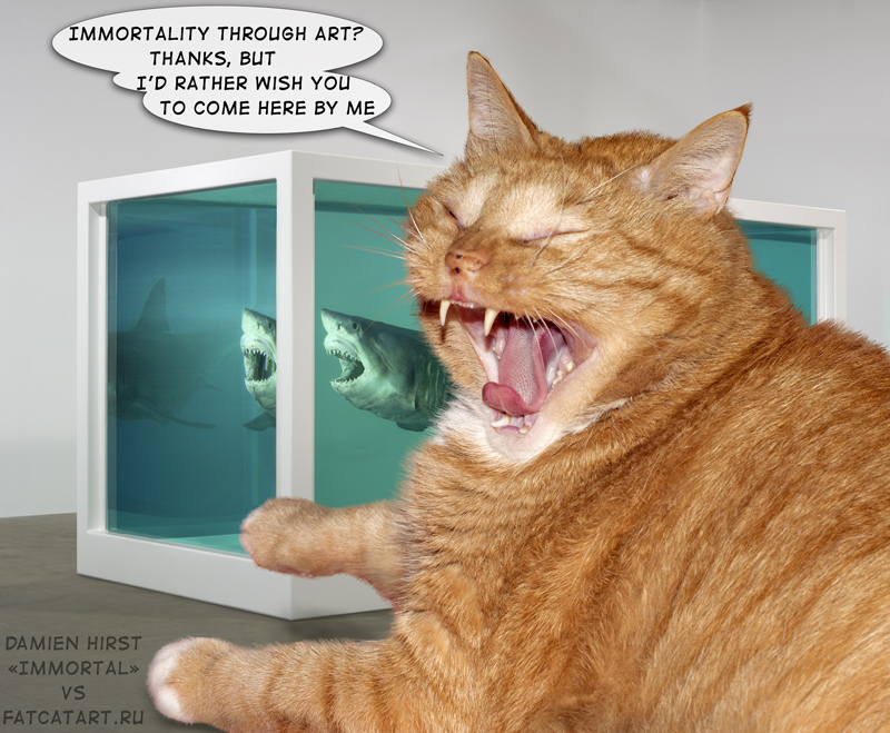 Zarathustra the Cat as art critics of