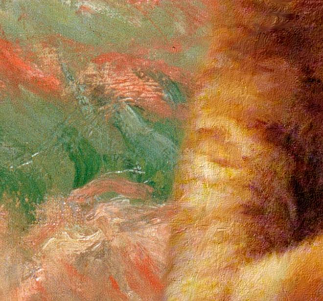 Monet, detail