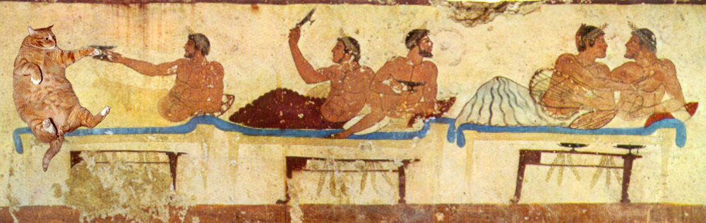 Symposium, Paestum, Tomb of the Diver