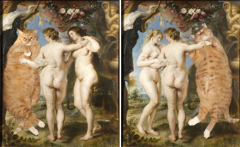 Rubens, Three Graces, variations