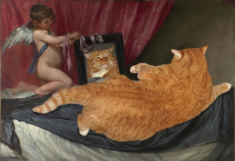 Веласкес, Венера перед зеркалом