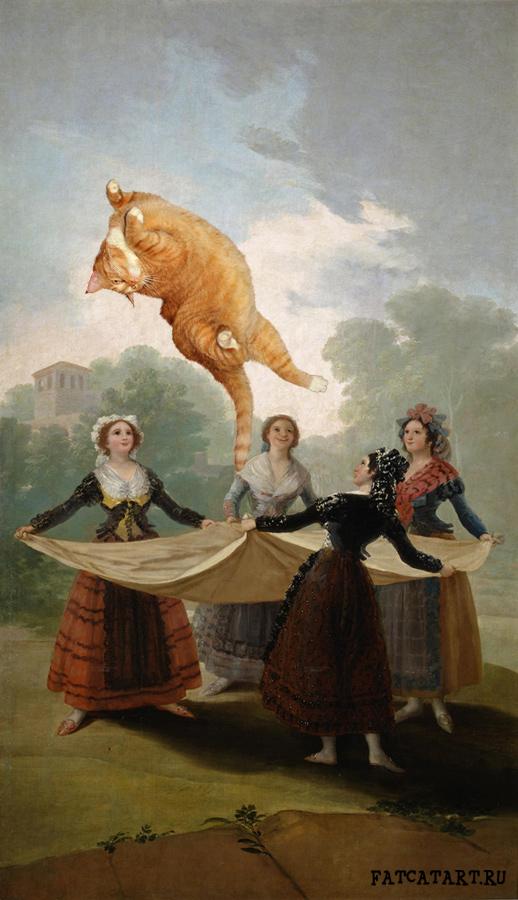 Francisco Goya, Forget The Straw Manikin (El Pelele)