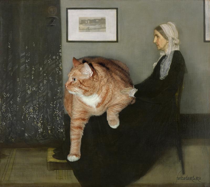 Джеймс Уистлер, Аранжировка в сером и чёрном. Мать художника