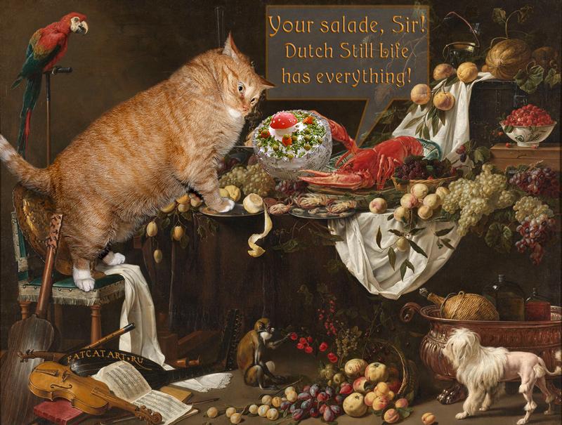 Adriaen van Utrecht, Opulence, i has it . 1644