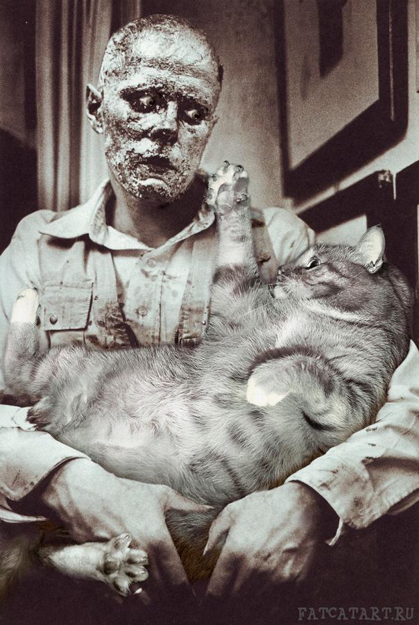 Йозеф Бойс, Как объяснять картины живому толстому коту?