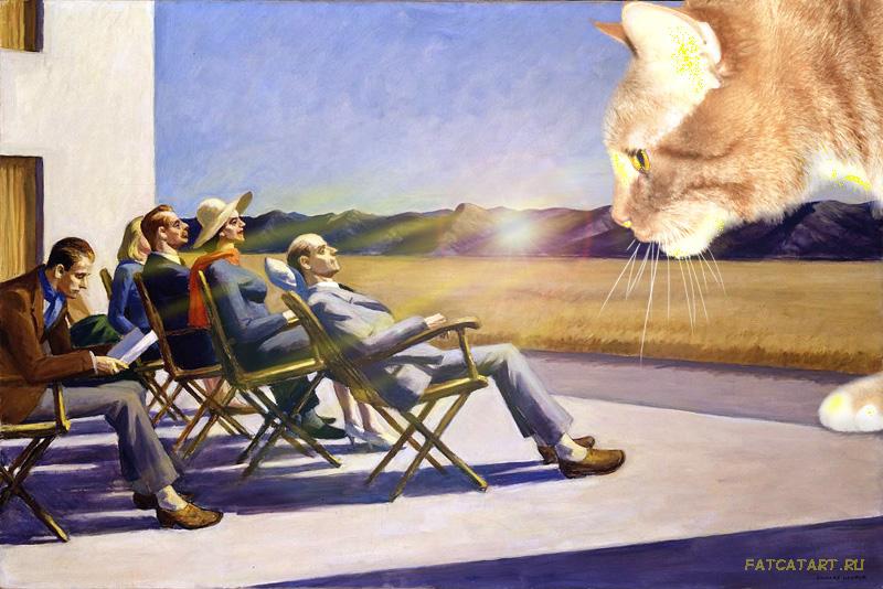 Edward Hopper, People in the Sun