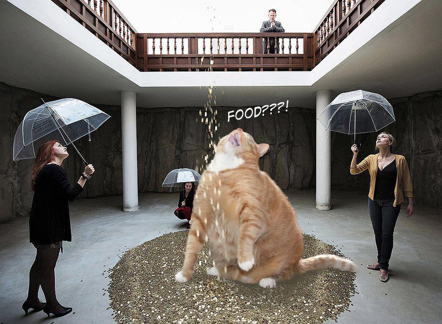 Vadim Zakharov, Fat Cat Danae