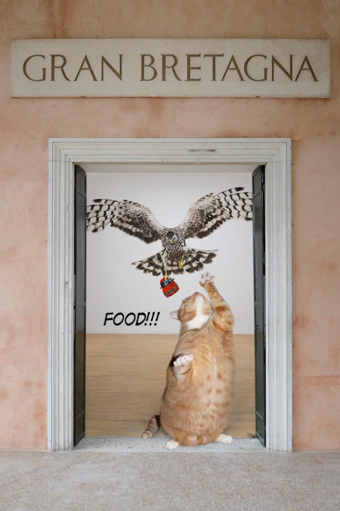 Jeremy Deller attacks wealth, feat. Fat Cat