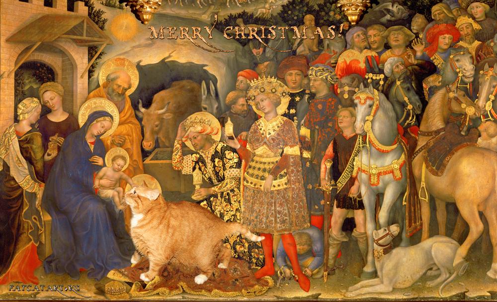 Джентиле да Фабриано, Поклонение котов