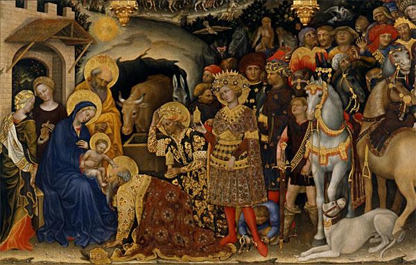 Джентиле да Фабриано, Поклонение волхвов, 1423