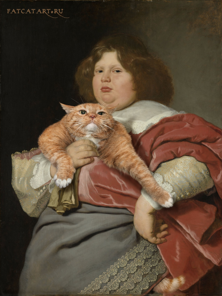 Bartholomeus van der Helst, Portrait of Gerard Andriesz Bicker with the Cat
