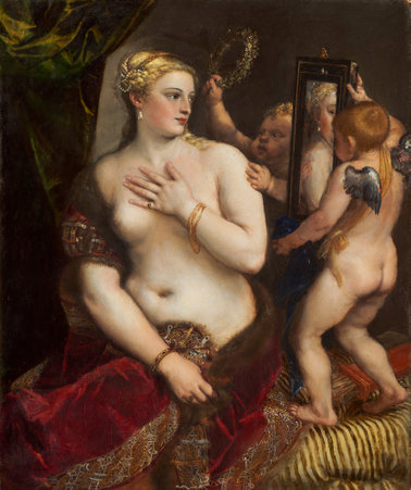 Titian, Venus with a Mirror from NGA collection